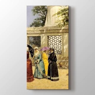 Osmanlı'da kadın görseli.