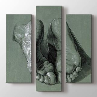 Study Of Two Feet görseli.