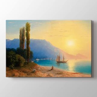 Yalta da Gün Batımı görseli.