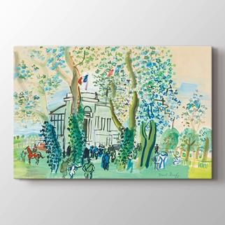 Le Pesage a Deauvılle görseli.
