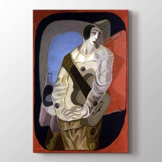 Mujer Con Guitarra  görseli.