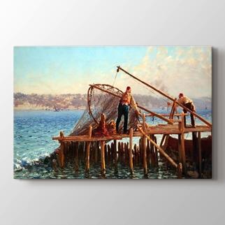 Ağ Çeken Balıkçılar görseli.