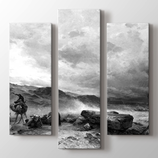 Bir Kum Fırtınasına Kamp  görseli.