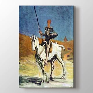 Don Quixote and Sancho Pansa görseli.