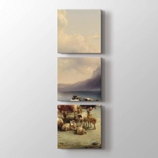 Çoban ve Hayvanları görseli.