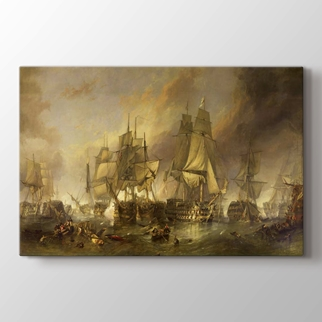 The Battle of Trafalgar görseli.