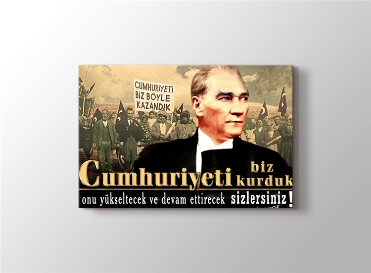 Cumhuriyette Atatürk