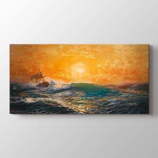 Günbatımında Deniz görseli.