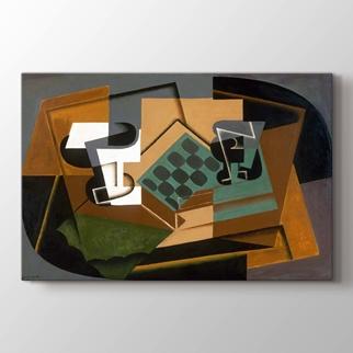 Satranç Tahtası Cam ve Bulaşık görseli.