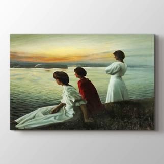 Üç Genç Bayanlar  görseli.