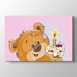 Sevimli ayı görseli.