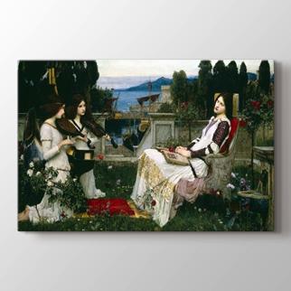 Saint Cecilia  görseli.