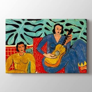 Gitar Çalan Kadın görseli.