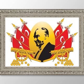 Atatürk Lozan Anlaşması görseli.