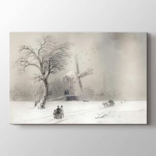 Kar Fırtınası  görseli.