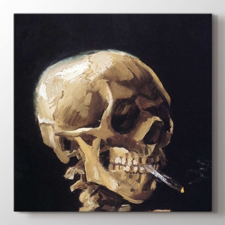 Calavera Con Cigarro görseli.