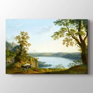 Nemi Gölü  görseli.