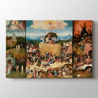The Haywain Triptych görseli.