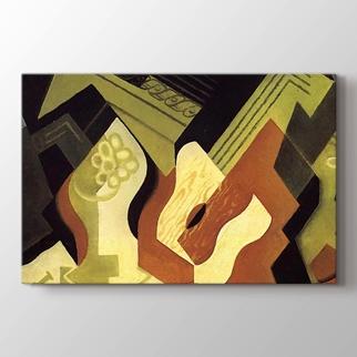 Guitar and Fruit Dish   görseli.