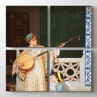 İki Müzisyen Kız  görseli.