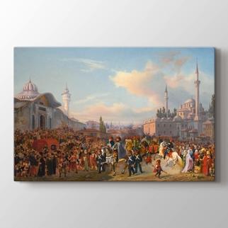 Sultan Mahmud II Beyazıt Cami  görseli.