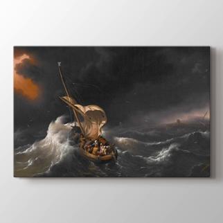 Celile Denizi Üzerinde Fırtına   görseli.