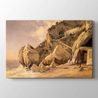 Rocks in Amalfi görseli.